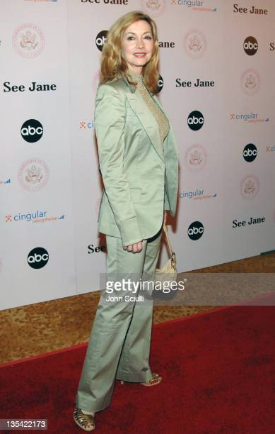 """Sharon Lawrence during """"Commander-in-Chief"""" Inaugural Ball and Premiere Screening at Regent Beverly Wilshire in Beverly Hills, California, United..."""