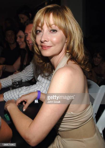 Sharon Lawrence during Ultimatebetcom Kari Feinstein and Mike McGuiness Host Celebrity Poker Tournament to Honor Clifton Collins Jr's Emmy Nomination...
