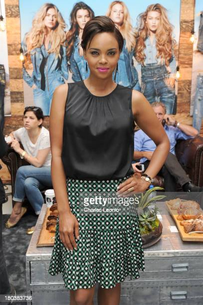 Sharon Leal poses at the Guess Portrait Studio on day 8 of the 2013 Toronto International Film Festival at Bell Lightbox on September 12 2013 in...