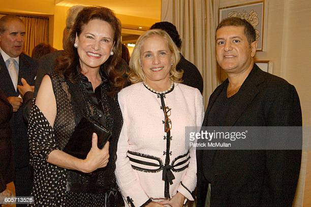 Sharon Mann Ann Barish and Rene Romeu attend Hamptons International Film Festival Celebrates Young and Upcoming Filmmakers at The Home of Andrea John...