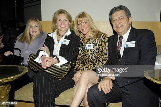 Sharon Marantz Walsh Cynthia Ekberg Tsai Candace Muzny and Leo Schargorodski attend CESLIEThe Women's Network and NOF honor the Lefrak women with the...