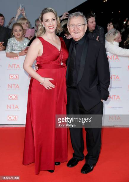 Sharon Marshall and Dr Chris Steele attends the National Television Awards 2018 at the O2 Arena on January 23 2018 in London England