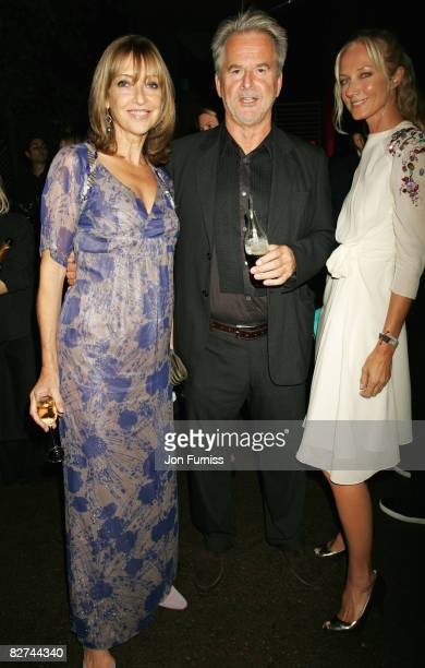 Sharon Maughan Trevor Eve and Joely Richardson attend the summer party at The Serpentine Gallery on September 9 2008 in London England