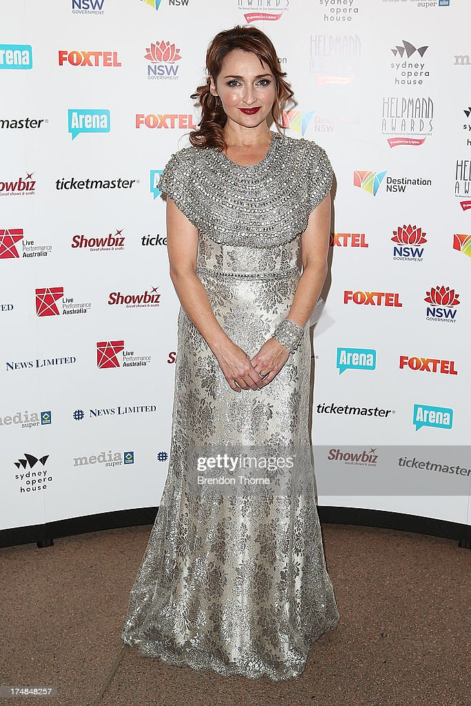Sharon Millerchip arrives at the 2013 Helpmann Awards at the Sydney Opera House on July 29, 2013 in Sydney, Australia.