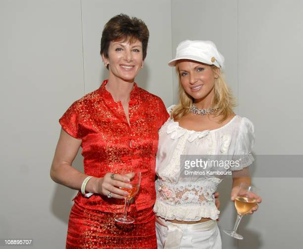 Sharon Mitchell and Savanna Samson during Timothy Greenfield Sanders Thinking XXX DVD launch party at the Hotel Rivington at Hotel Rivington in New...