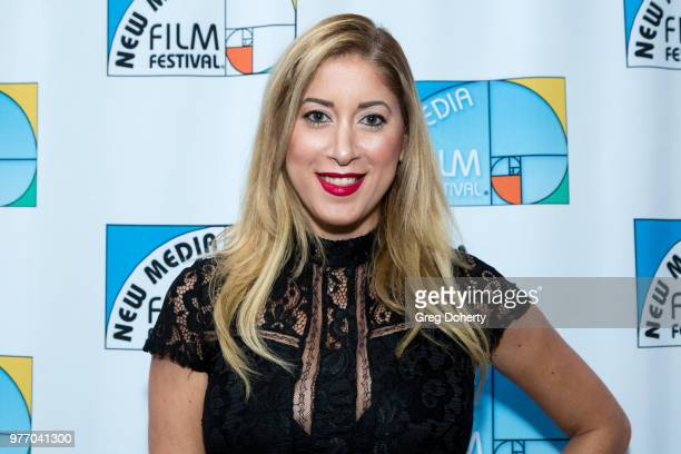 Sharon Moore attends the 9th Annual New Media Film Festival at James Bridges Theater on June 16 2018 in Los Angeles California