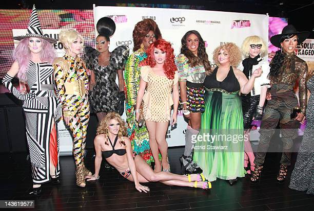 Sharon Needles Chad Michaels Lashauwn Beyond Willam Belli Latrice Royale Phi Phi O'Hara Dida Ritz Madame LaQueer The Princess and Milan attend the...