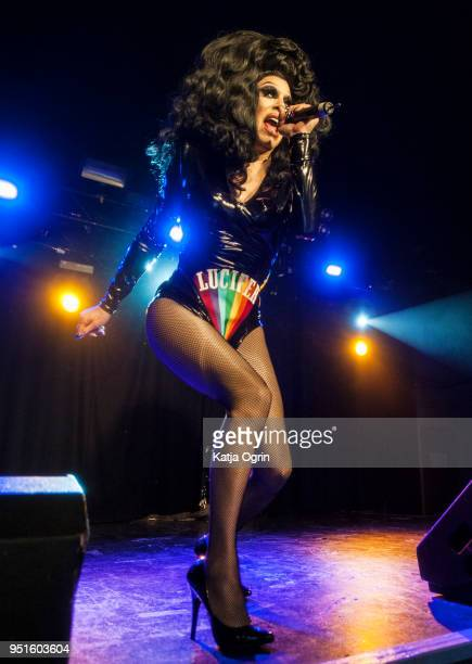 Sharon Needles performs at The O2 Institute Birmingham on April 26 2018 in Birmingham England