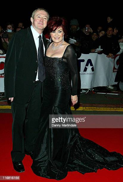 Sharon Osbourne and Louis Walsh attend the National Television Awards at The Royal Albert Hall on October 31 2007 in London England