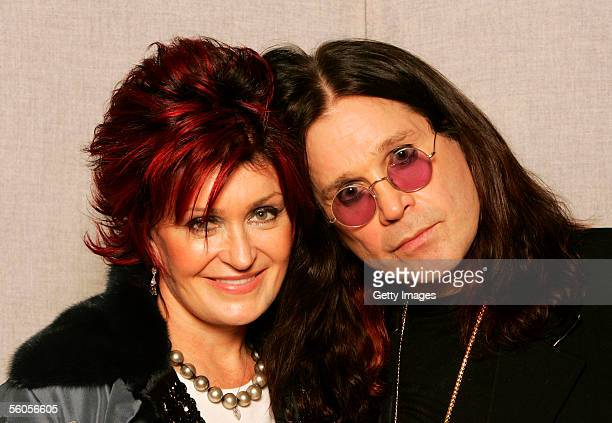 Sharon Osbourne and Ozzy Osbourne pose for a portrait to promote the Tsunami relief charity single a cover of the Sir Eric Clapton ballad 'Tears In...