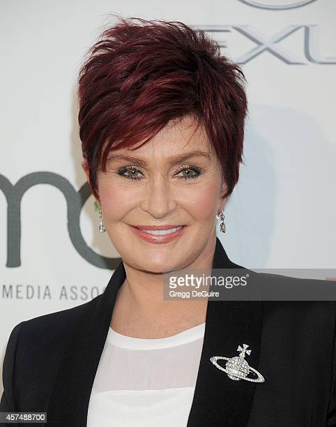 Sharon Osbourne arrives at the 2014 Environmental Media Awards at Warner Bros Studios on October 18 2014 in Burbank California