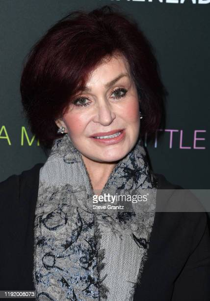 """Sharon Osbourne arrives at the """"A Million Little Pieces"""" at The London Hotel on December 04, 2019 in West Hollywood, California."""