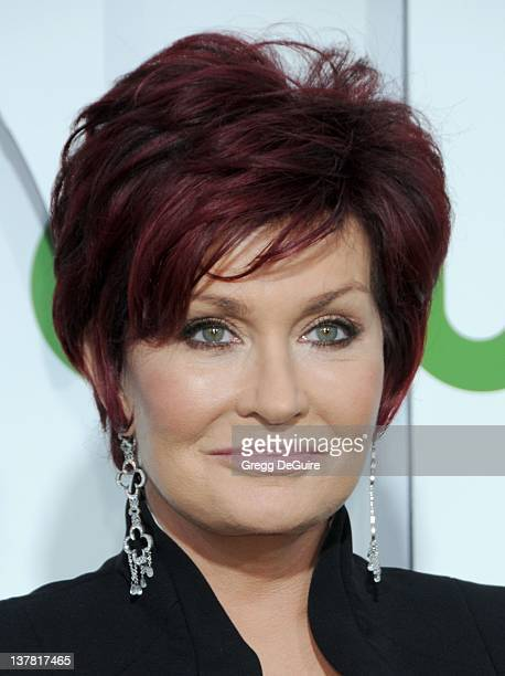 Sharon Osbourne arrives at the CBS The CW Showtime Summer Press Tour Party held at The Tent on July 28 2010 in Beverly Hills California