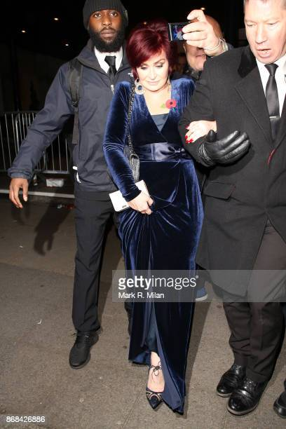 Sharon Osbourne attending the Pride of Britain Awards on October 30 2017 in London England