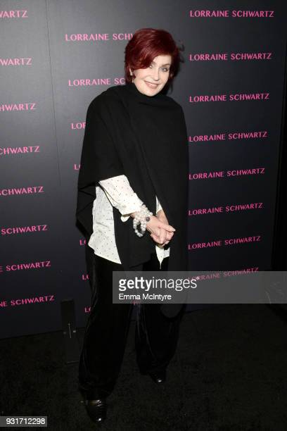 Sharon Osbourne attends Lorraine Schwartz launches The Eye Bangle a new addition to her signature Against Evil Eye Collection at Delilah on March 13...
