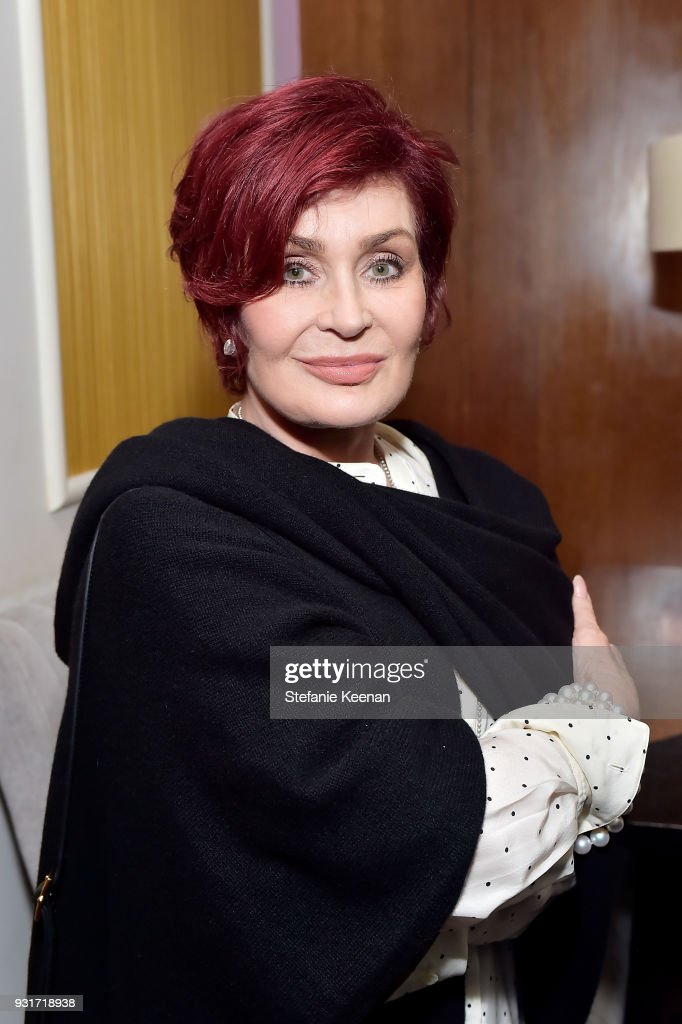 Sharon Osbourne attends Lorraine Schwartz launches The Eye Bangle a new addition to her signature Against Evil Eye Collection at Delilah on March 13, 2018 in West Hollywood, California.