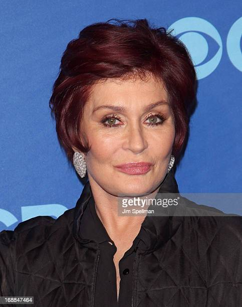 Sharon Osbourne attends the 2013 CBS Upfront at The Tent at Lincoln Center on May 15 2013 in New York City