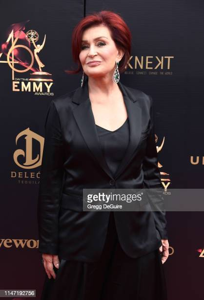 Sharon Osbourne attends the 46th annual Daytime Emmy Awards at Pasadena Civic Center on May 05 2019 in Pasadena California
