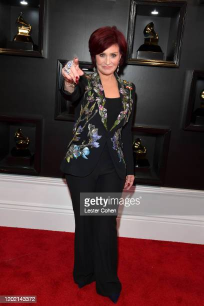 Sharon Osbourne attends the 62nd Annual GRAMMY Awards at STAPLES Center on January 26 2020 in Los Angeles California
