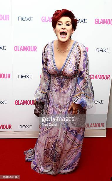 Sharon Osbourne attends the Glamour Women of the Year Awards at Berkeley Square Gardens on June 3 2014 in London England