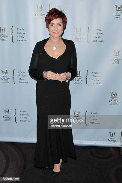 Sharon Osbourne attends the Jewish Family Service of Los Angeles 23rd Annual Gala Dinner at The Beverly Hilton Hotel on May 23 2016 in Beverly Hills...