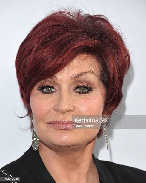 Sharon Osbourne attends the NBC Universal Press Tour All Star Party at The Bazaar at the SLS Hotel Beverly Hills on August 1 2011 in Los Angeles...
