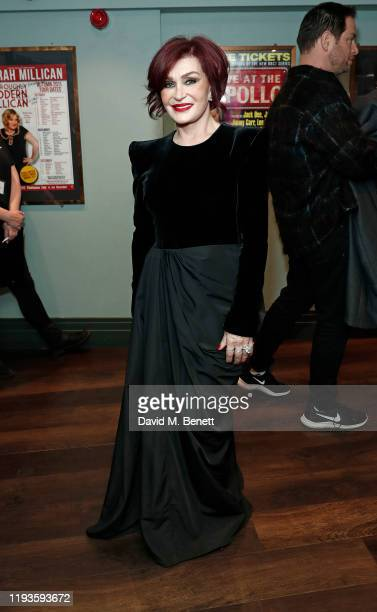 Sharon Osbourne attends the press night performance of Nativity The Musical at Eventim Apollo Hammersmith on December 12 2019 in London England