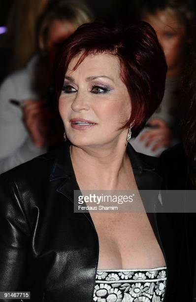 Sharon Osbourne attends the Pride Of Britain Awards at Grosvenor House on October 5 2009 in London England