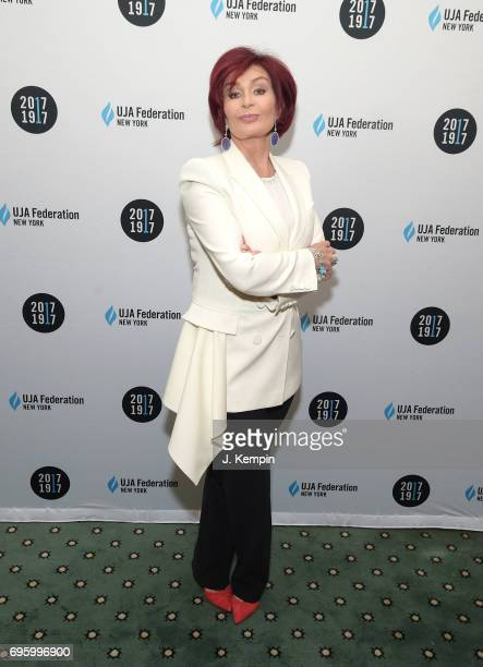 Sharon Osbourne attends the UJAFederation Of New York's 2017 Music Visionary Of The Year Award Luncheon at The Pierre Hotel on June 14 2017 in New...