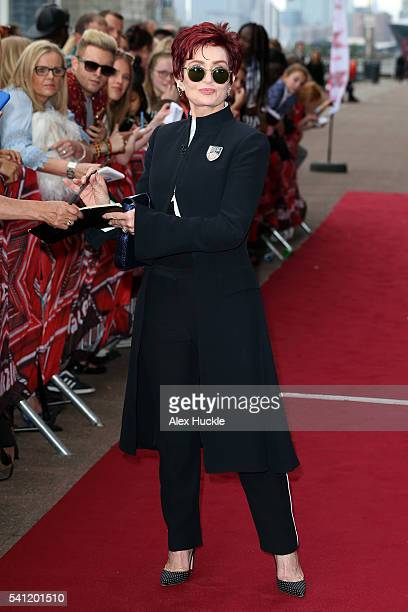 Sharon Osbourne attends the X Factor Auditions on June 19 2016 in London England