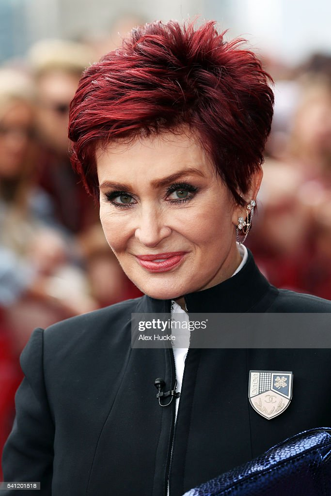 Sharon Osbourne attends the X Factor Auditions on June 19, 2016 in London, England.