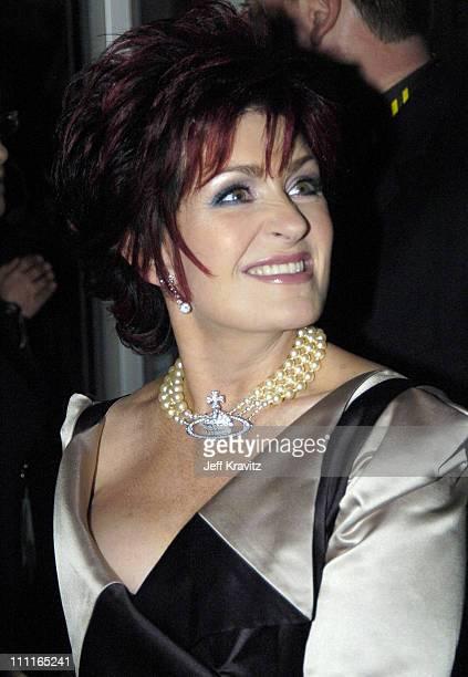 Sharon Osbourne during 2004 MTV European Music Awards Red Carpet at Torr di Valle in Rome Italy