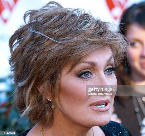 Sharon Osbourne during 2nd Annual MusiCares MAP Fund Benefit Concert Honoring James Hetfield and Bill Silva at Henry Fonda Music Box in Hollywood...