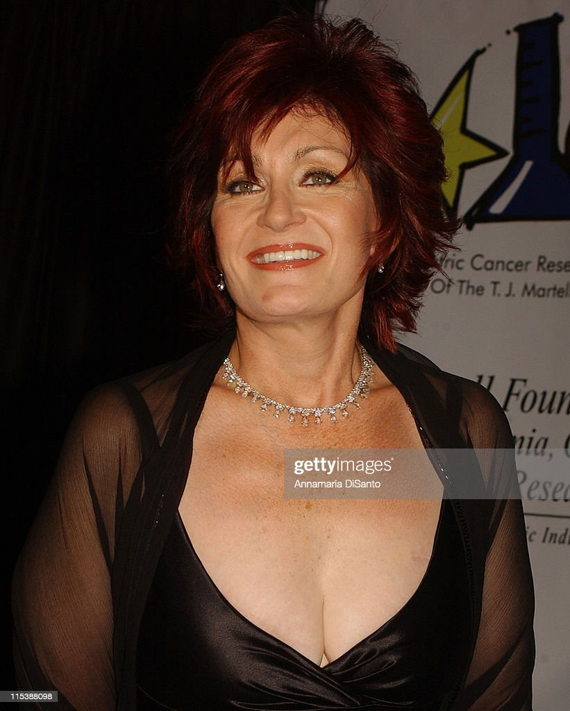 Sharon Osbourne during Bogart Tour For A Cure 2003 featuring Seal, Jonny Lang, Michael McDonald, Gavin DeGraw, Queen Latifah and Sharon Osbourne at Kodak Theatre in Los Angeles, California, United States.
