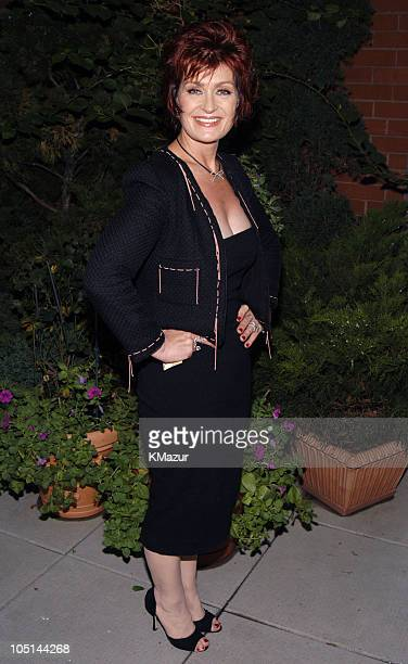 Sharon Osbourne during Ladies' Home Journal Hosts Reception in Honor of Sharon Osbourne's August Cover in New York City New York United States