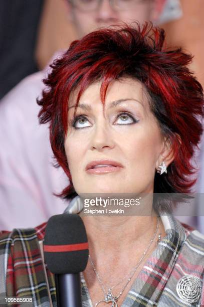 Sharon Osbourne during MTV's 'TRL' Tsunami Relief Benefit with Carson Daly and Sharon Osbourne February 3 2005 at MTV Studios Times Square in New...