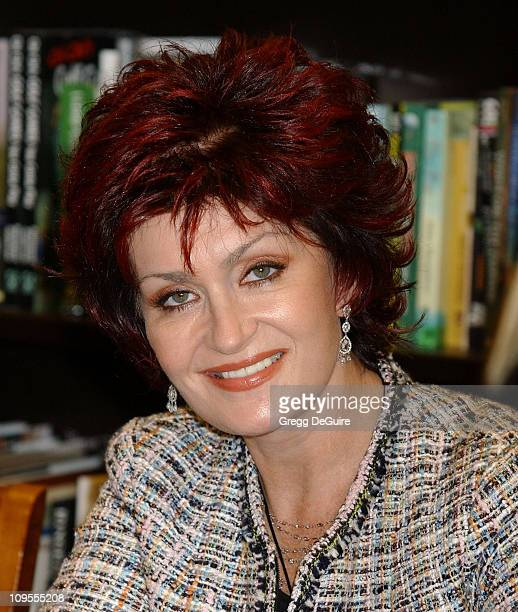 """Sharon Osbourne during Sharon Osbourne & Jack Osbourne Sign Copies of their Book """"Our Story: Ozzy and Sharon Osbourne with Aimee, Kelly, & Jack"""" at..."""