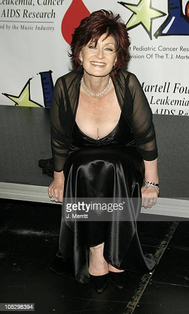 Sharon Osbourne during The Bogart Tour For A Cure at The Kodak Theatre in Hollywood CA United States