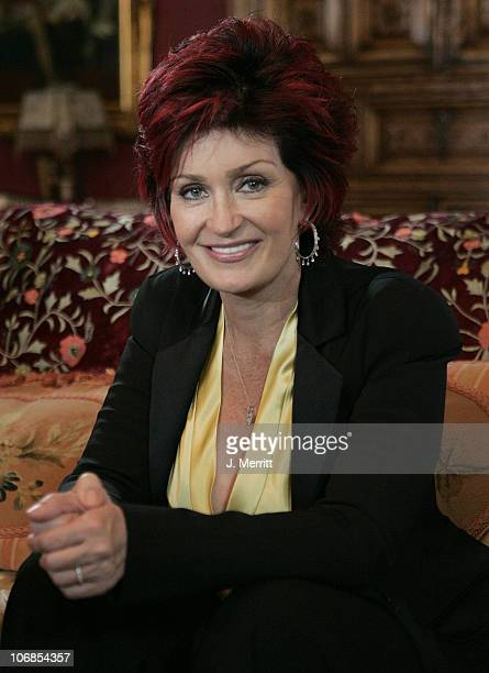 Sharon Osbourne during 'The Osbournes' Season 3 Therapy With Doctor Phil Airing March 21st at Private Location in Beverly Hills California United...