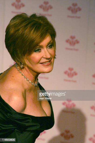 Sharon Osbourne during The Prince's Trust Gala Dinner at The Roundhouse in London Great Britain