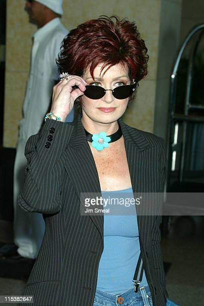 Sharon Osbourne during The WB Presentation at Television Critics Association Inside at Renaissance Hotel in Hollywood California United States
