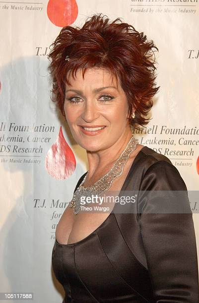 Sharon Osbourne during TJ Martell Foundation Awards MTV with Humanitarian of the Year Award at Hilton Hotel in New York City New York United States