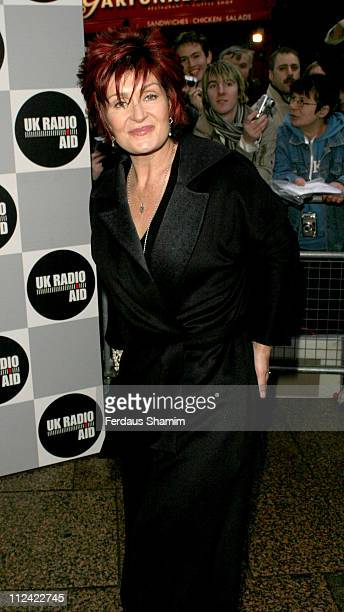 Sharon Osbourne during UK Radio Aid to Benefit Victims of the Asian Tsunami - Outside Arrivals at Capital Radio in London, United Kingdom.