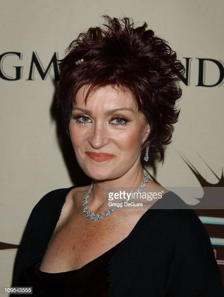 Sharon Osbourne during VH1 Divas Duets: A Concert to Benefit the VH1 Save the Music Foundation - Backstage at MGM Grand Hotel in Las Vegas, Nevada,...