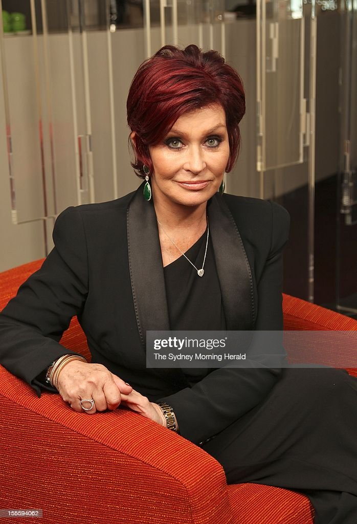 Sharon Osbourne Portrait Shoot