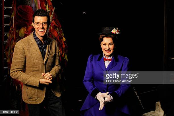 Sharon Osbourne fulfills a lifelong dream of transforming into Mary Poppins on Broadway for a segment on THE TALK in New York Wednesday December 14...