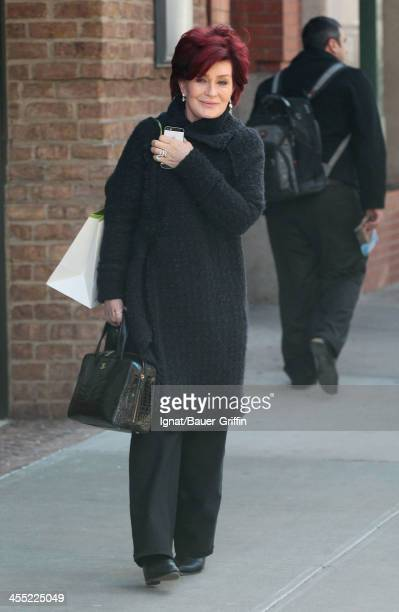 Sharon Osbourne is seen on December 11 2013 in New York City