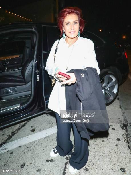 Sharon Osbourne is seen on July 15 2019 in Los Angeles California