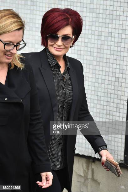 Sharon Osbourne seen at the ITV Studios on November 27 2017 in London England
