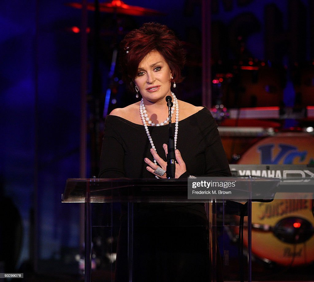 Sharon Osbourne speaks during the Associates for Breast and Prostate Cancer's 20th Anniversary Gala at the Beverly Hilton Hotel on November 21, 2009 in Beverly Hills, California.
